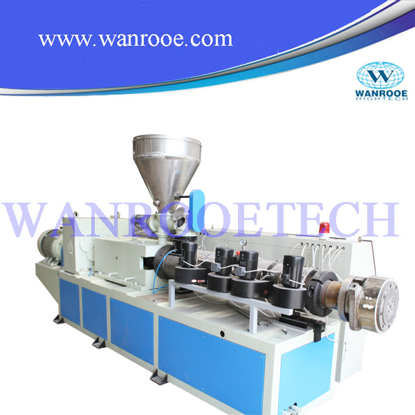 Single Screw HDPE Pipe Production Line