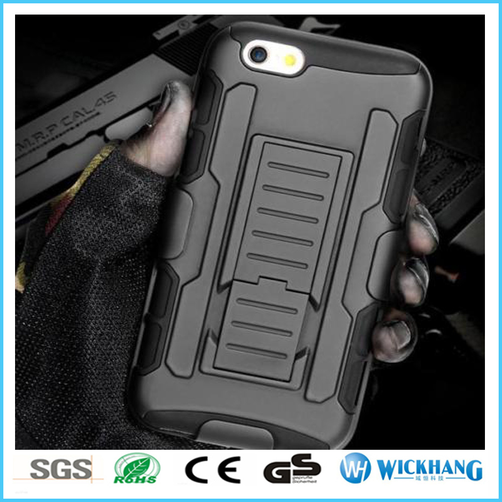 Armor Hybrid Shockproof Belt Clip Holster Case for iPhone 7 / 7 Plus