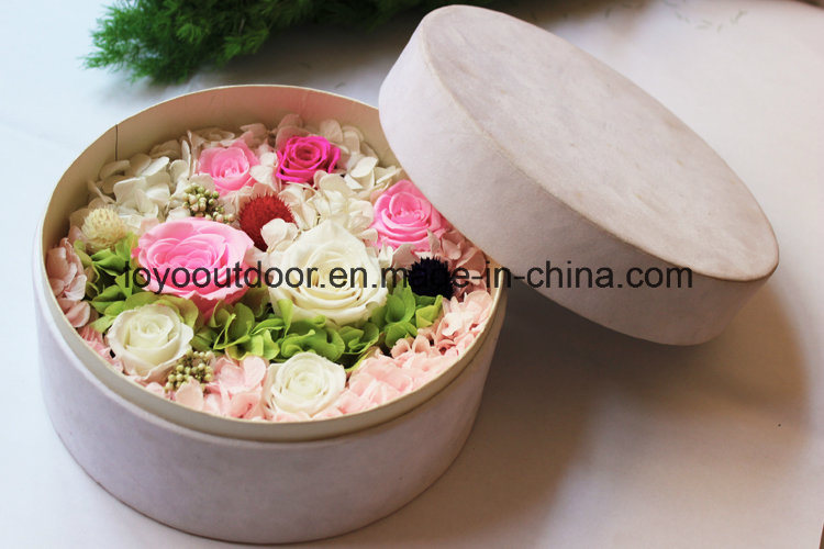 Silk Flowers Preserved Natural Roses