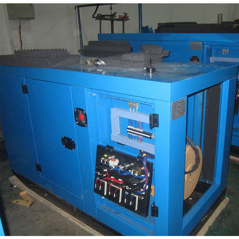 Cummins Open Type LCD Panel Diesel Generator Set