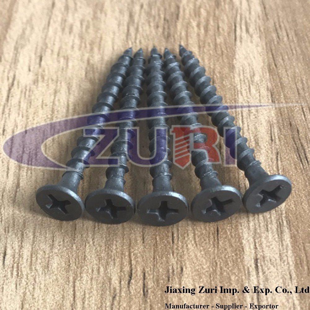 Drywall Screw Black Phosphated 3.5X25 Fastener Tornillos