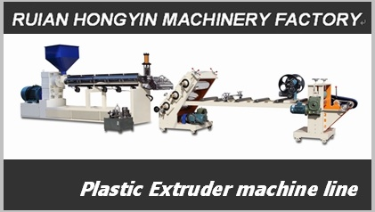 Single Screw Plastic Sheet Extruder Machine (HY-670)