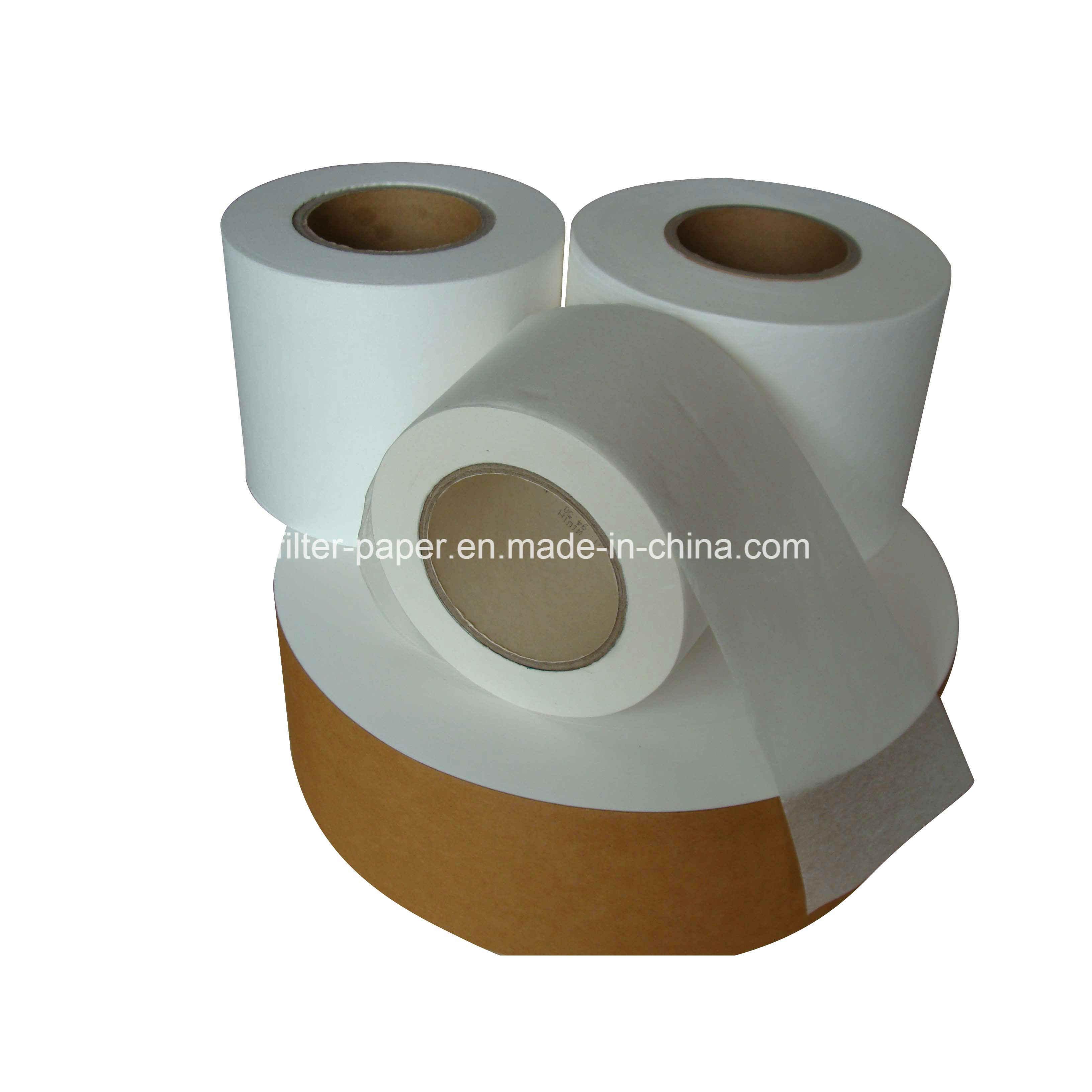 18GSM Abaca Pulp Heat Seal Tea Bag Filter Paper