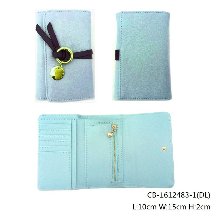 Lady′s Fashion High Quality PU Leather Purse (CB-1612483-1)