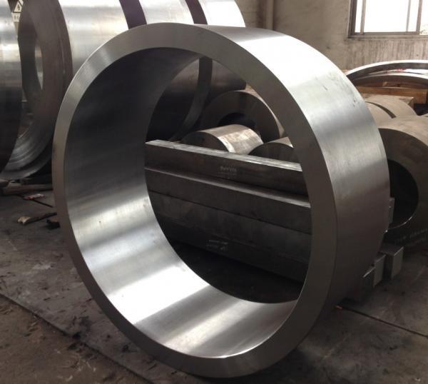 Forged Steel Crankshaft 42CrMo SAE4140 AISI4140