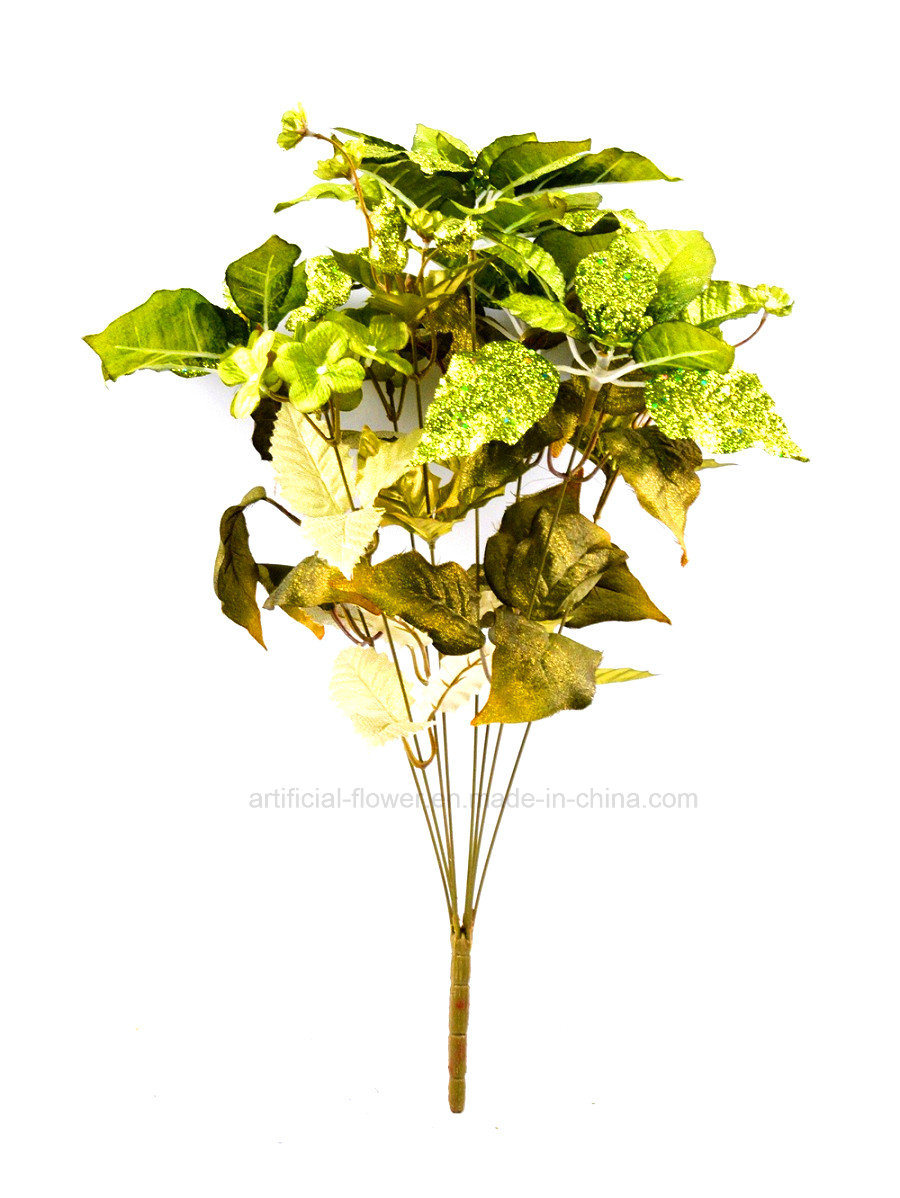 Artificial Hydrangea Christmas Floral Arrangement Withx8 for Decoration