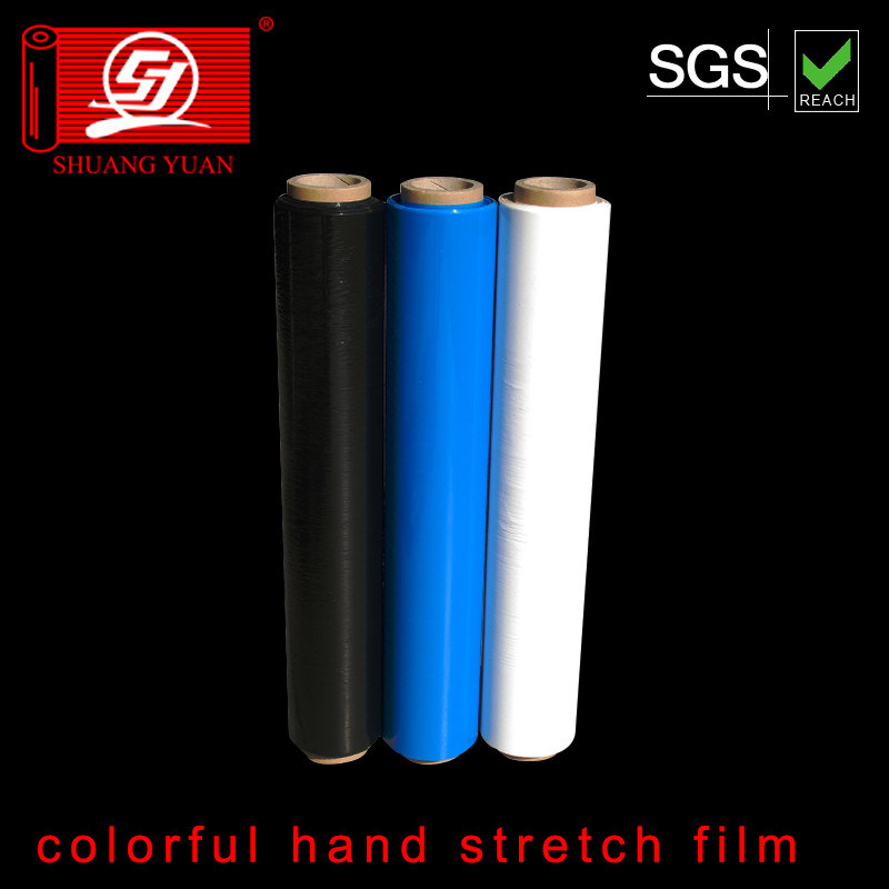 Colorful Stretch Film Hand Film Shrink Wrap Film Pallet Wrap Film