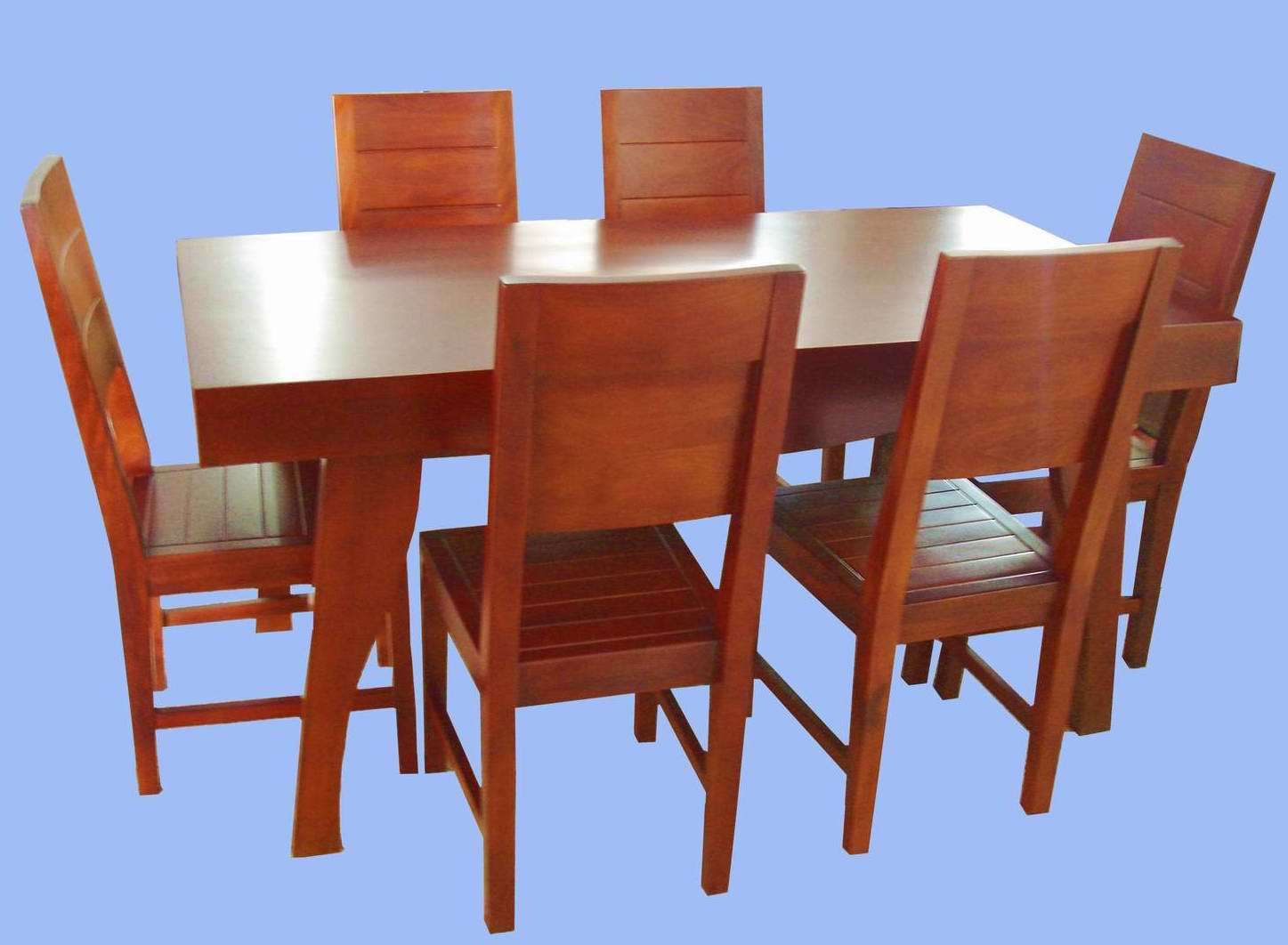 China Solid Wood Table and Chairs