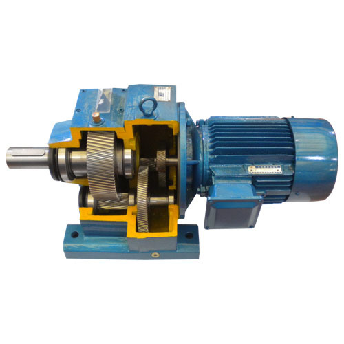 China Helical Gear Motor R Series China Speed Reducer Gearmotor