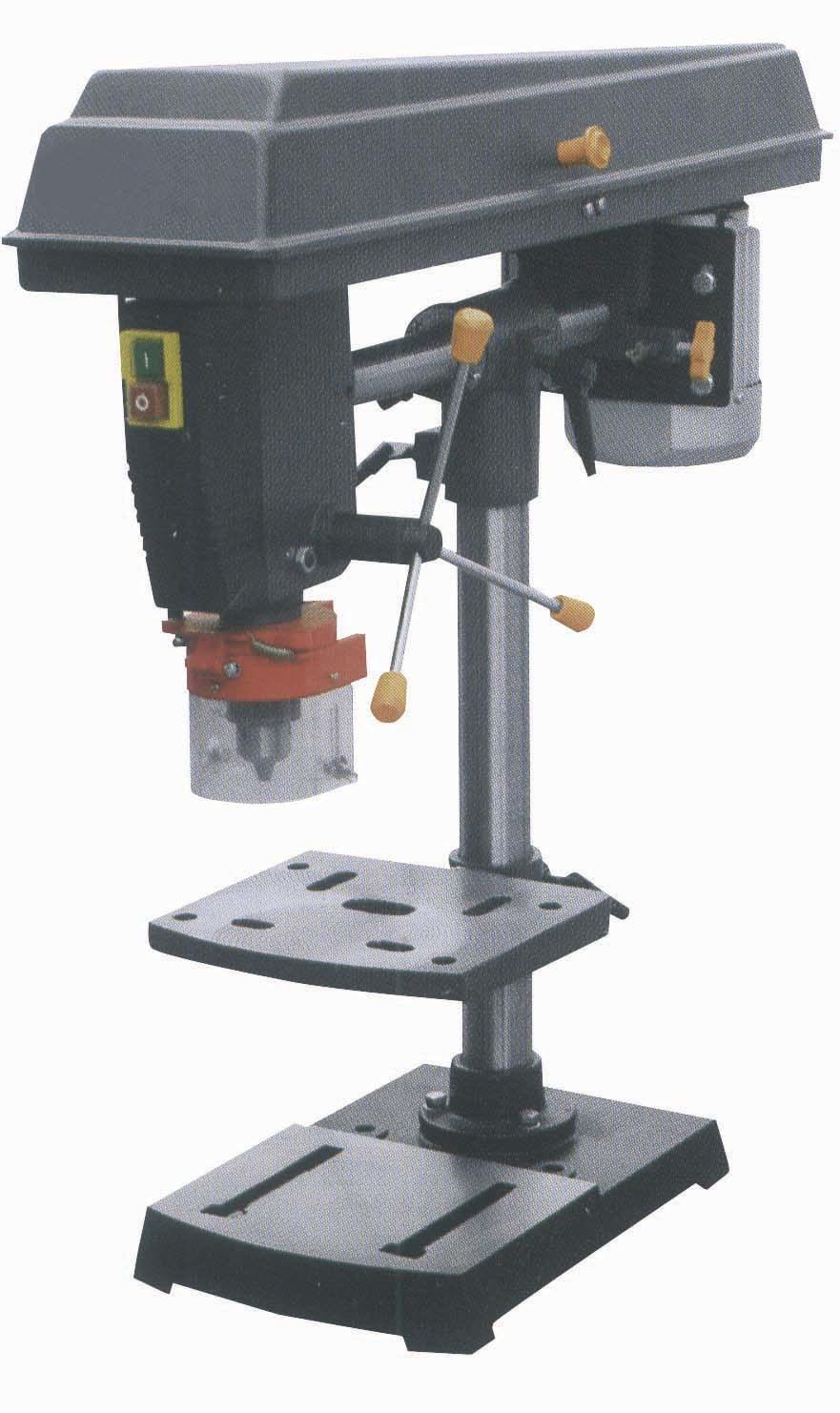 Wood Drill Press for Pinterest