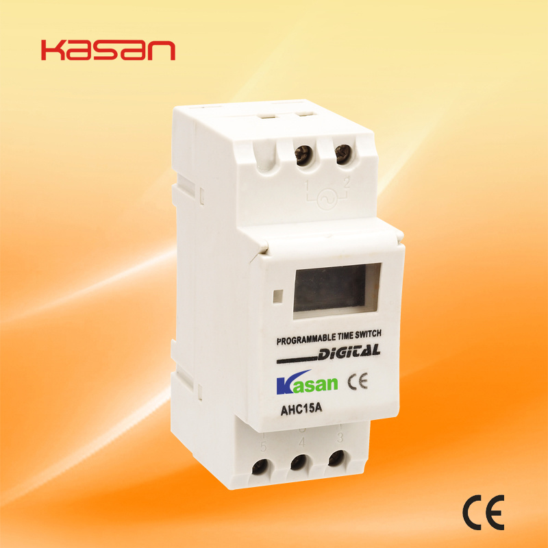 Weekly Programmable Electronic Digital Timer Switch (16A 250VAC)