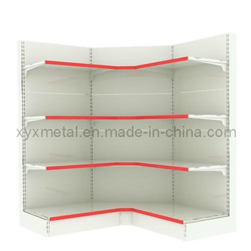 Display Wall Side Corner Supermarket Shelves