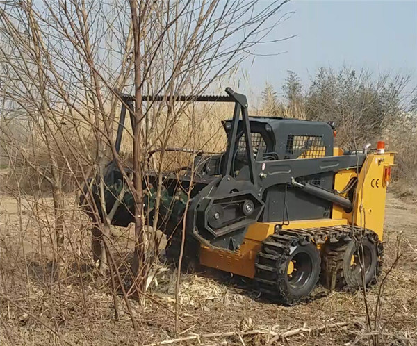 Skid Steer Loader Forest Mulcher for Sale