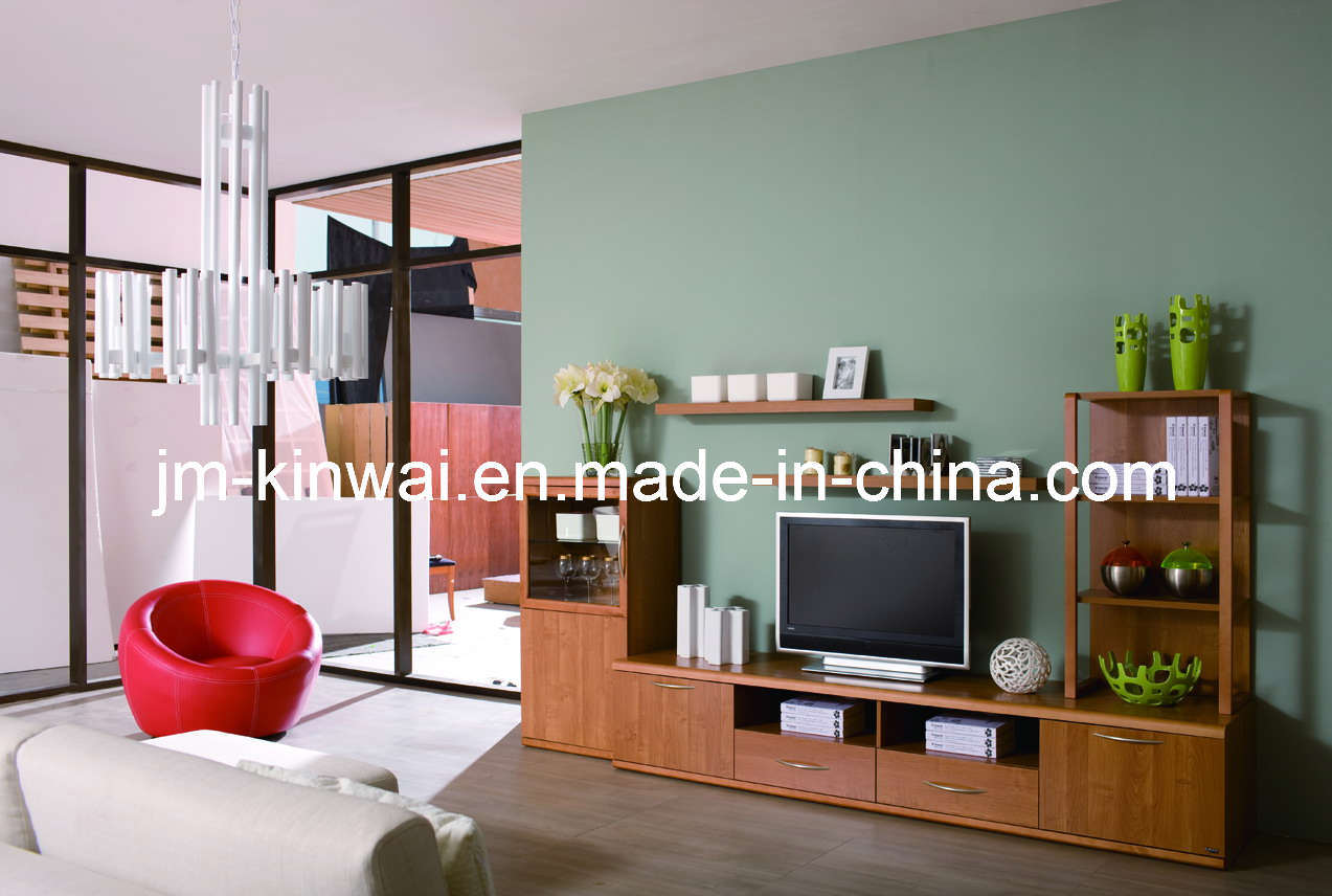 China Melamine Tv Unit Living Room Furniture China Tv Unit Tv Stand