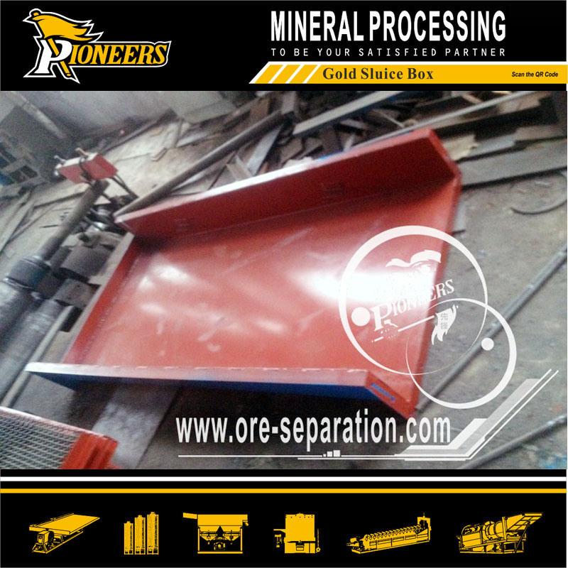 Gold Mining Washing Equipment Sluice Box Gold Ore Wash Plant