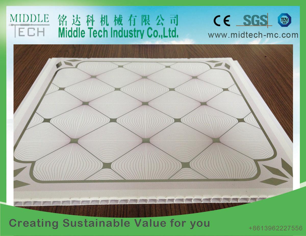 Plastic PVC Ceiling Extruder Machine