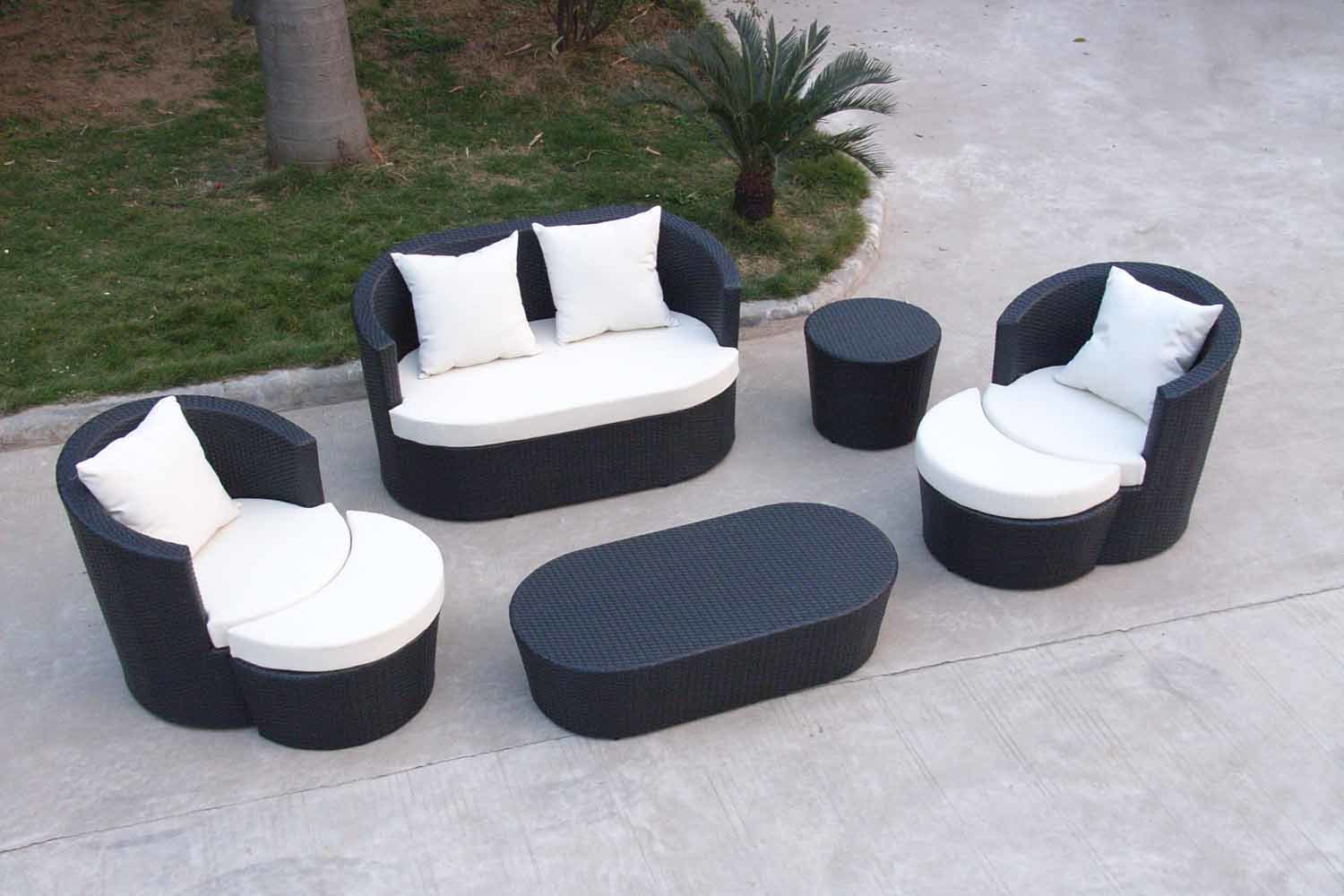 furniture sofa set on Outdoor Furniture Sofa Set  Pf 20418    China Outdoor Furniture