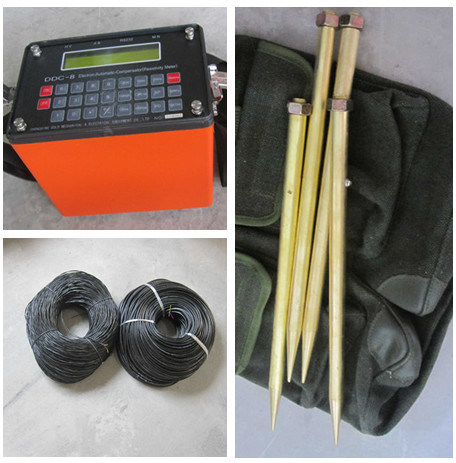 Resistivity Meter for Ground Water Exploration