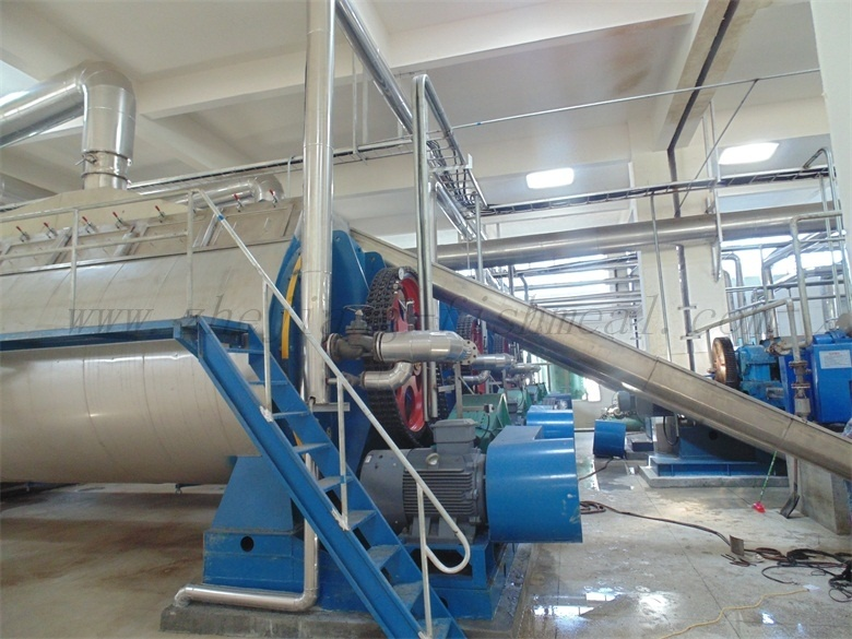 Automatic Controlled Fishmeal Plant Line