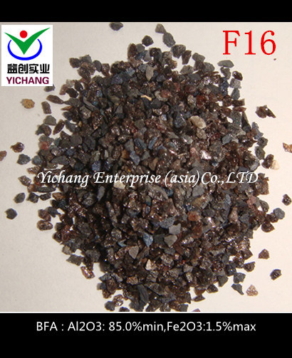 Al2O3: 85% Min Brown Corundum for Sandblasting