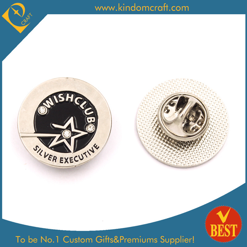 High Quality Award Lapel Pin with Stone (KD-173)