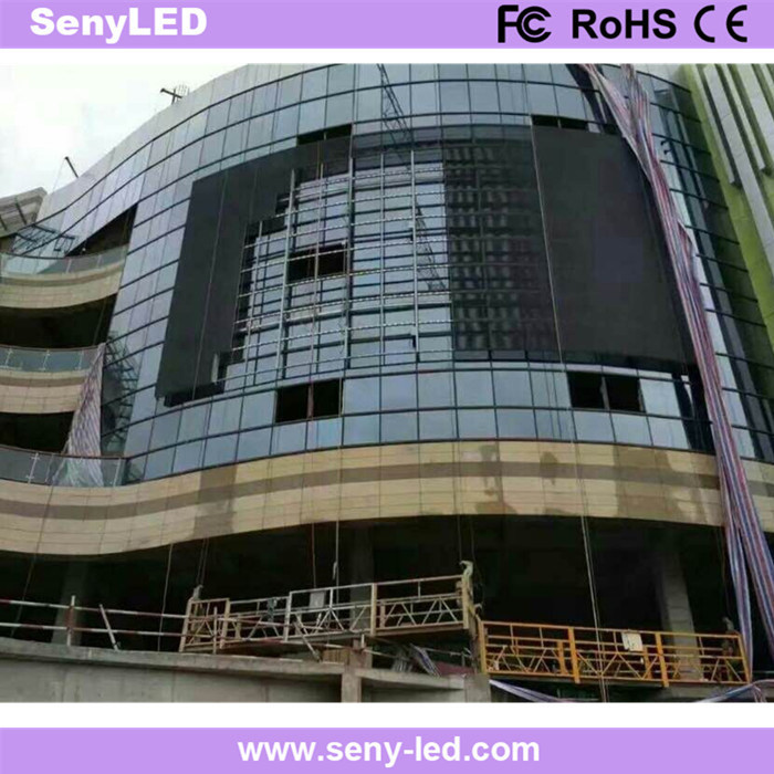 P8 High Brightness Energy Saving Full Color Outdoor Fixed LED Display for Advertising