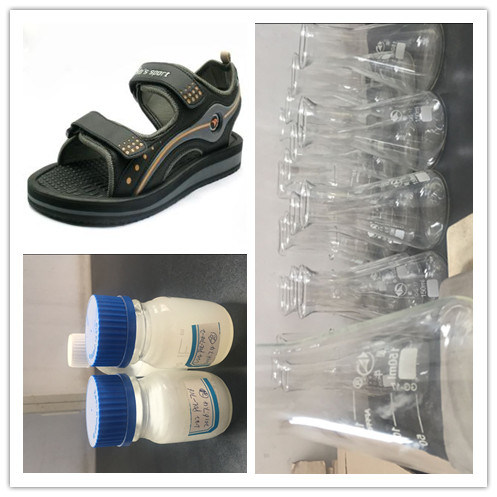 Polyurethane Resin for Sandal Shoes with Low Density