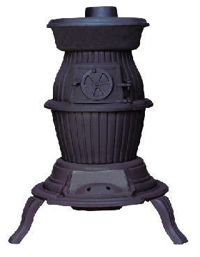 Cast Iron Indoors Stove (FIPA028) , Pot Belly Stove
