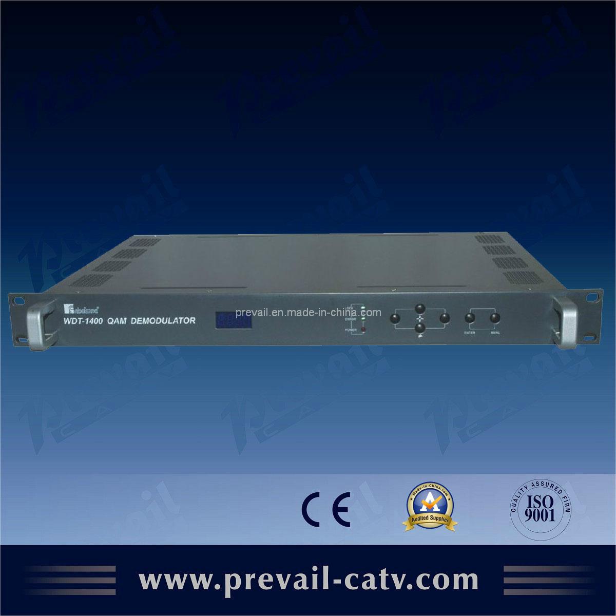 Digital Head-End DVB-C Qam Demodulator (WDT-1400)