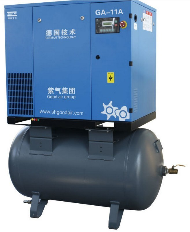 7bar Industrial Air Compressor Mounted Tank