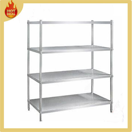 Chrome or Stainless Steel Storage Wire Mesh Shelving
