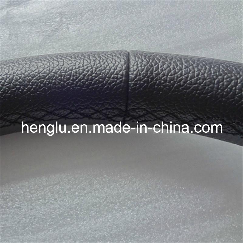 Deep Disk PVC PU Racing Steering Wheel (HL1001680)