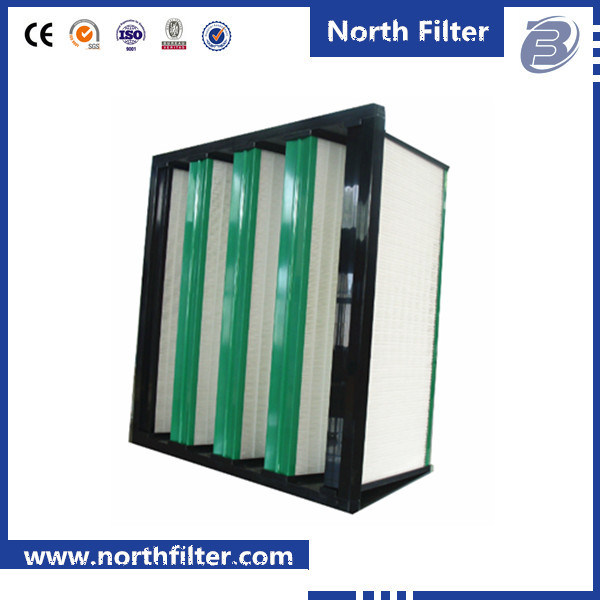 Industrial V Bank Compact Dust Air Filter