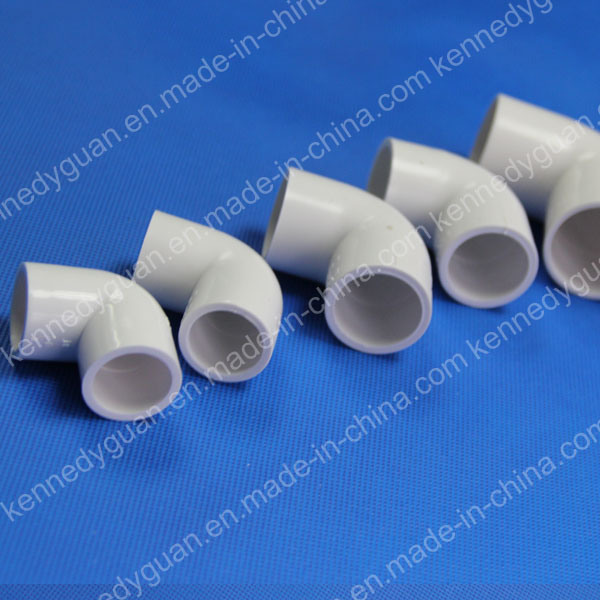 China pvc pipe fitting elbow degree mm photos