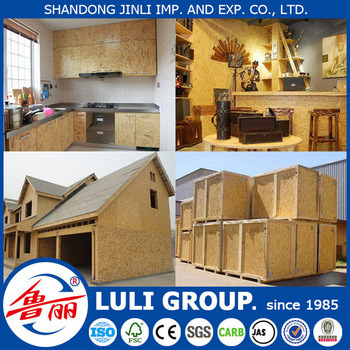 9mm 12mm OSB Manufacturer Luli Group