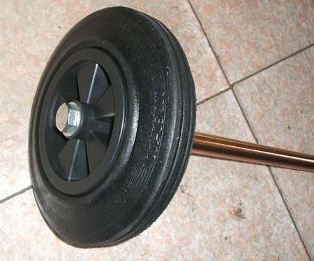 "8"" Plastic Bin Wheel for Dustbin Container"