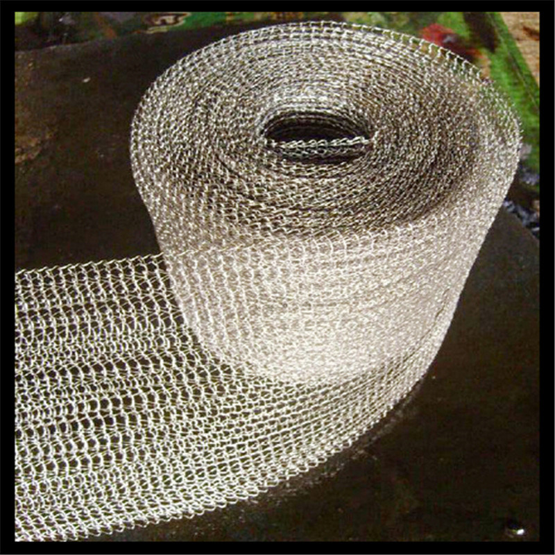 Knitted Gas Liquid Filter Wire Mesh