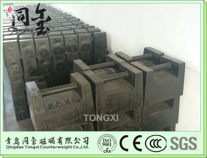 M1 Class 1kg 10kg 20kg 500kg Test Weight for Crane Crane Counter Weight 20kg Cast Iron Weights