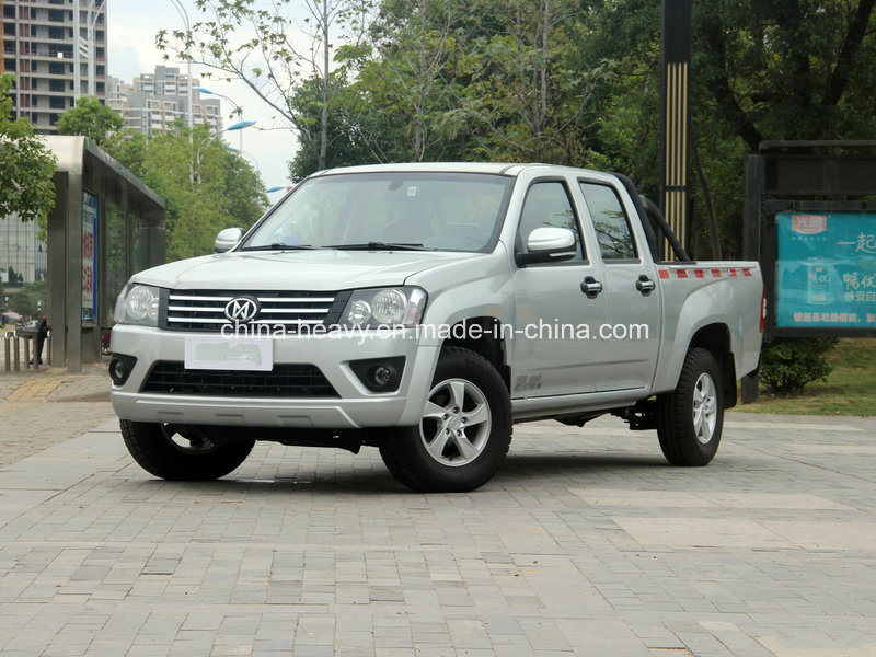 4X4 Petrol /Gasoline Double Cabin Pick up Car (Extended Cargo Box, Deluxe)