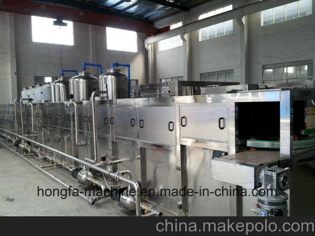 Bottle Cooling Tunnel for Hot Juice Filling Process
