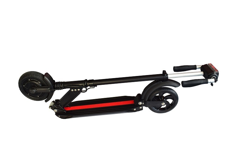 8inch Folding Electric Suspension Kick Scooter with LED