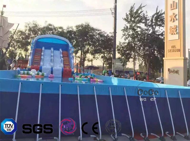 2017 Inflatable PVC Frame Pool LG8090