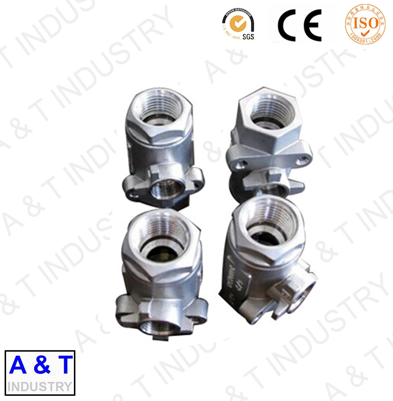 OEM High Quality CNC Machining Steel Investment Casting Pump Parts