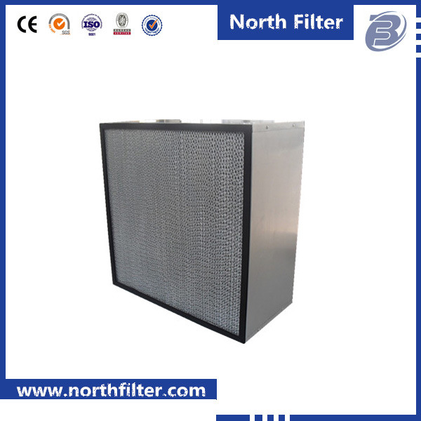High Quality H14 Clapboard Air Filter for Clean Room