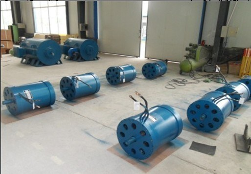 360kw High Speed 7000rpm Permanent Magnet Motor