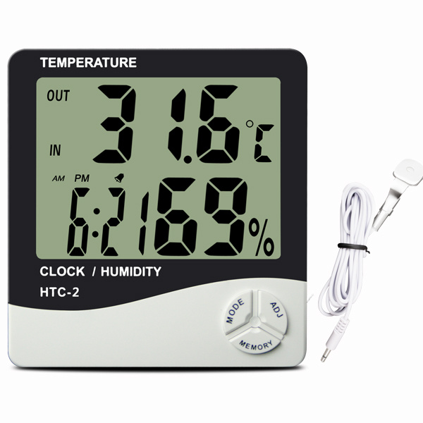 Digital Hygrometer Thermometer with Remote Sensor