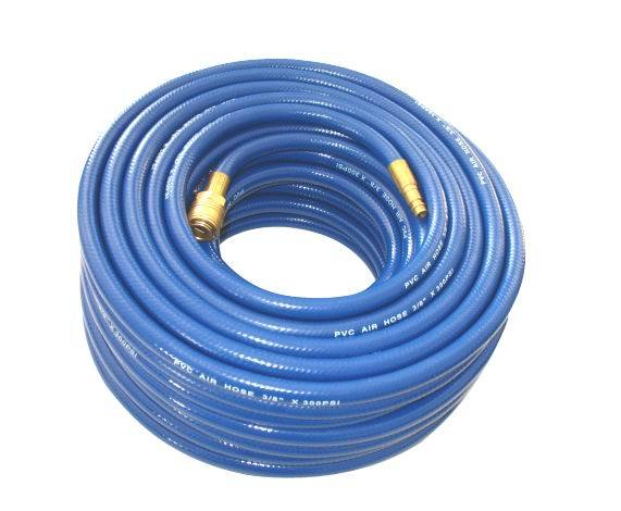 Flexible Rubber PVC Air Hose with Quick Coupler