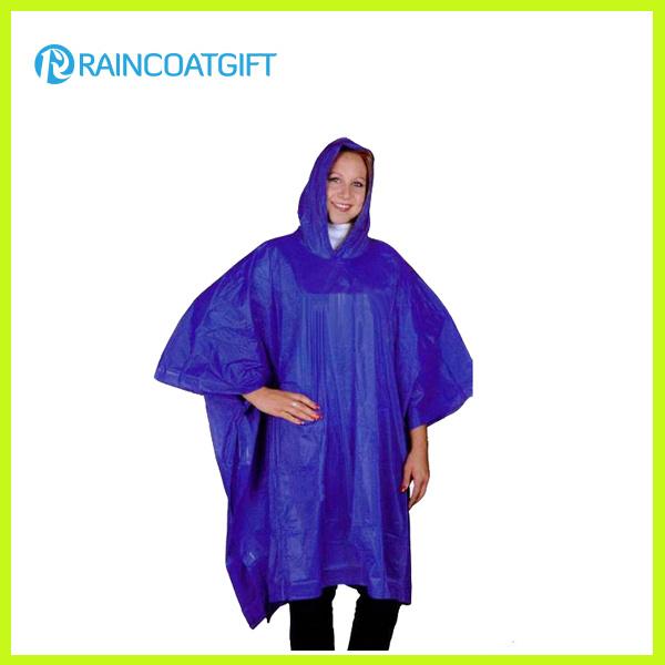 Promotional Purple PVC Rain Poncho RGB-162