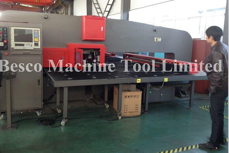 O Type CNC Turret Punch Press Machine