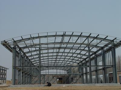 Steel Frame Structure Prefabricated Workshop